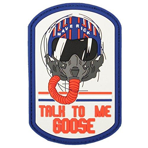Violent Little Machine Shop Talk to Me Goose Top Gun Morale Patch - 1061