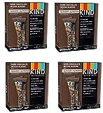 KIND Bars, Dark Chocolate Mocha Almond, Gluten Free, Low Sugar, 1.4oz, 48 Bars