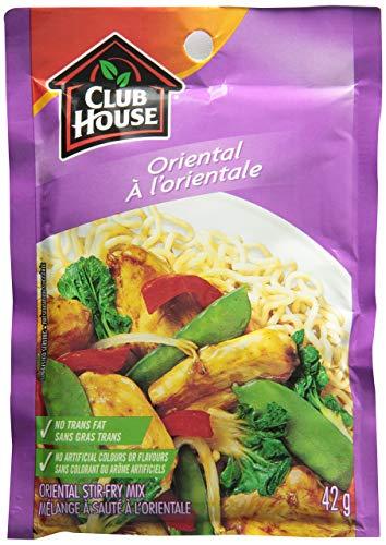 Club House Oriental Stir Fry Mix, 42g/1.5oz., {Imported from Canada}