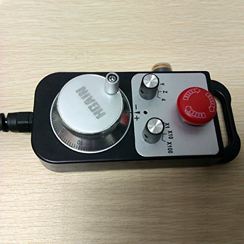 Manual Pulse Generator for CNC Control TM1474-100BSL5 with 5.8M Spring cable