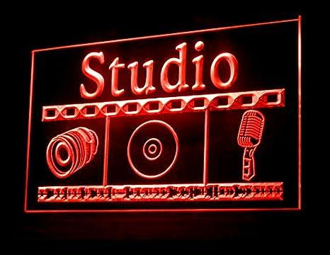 Amazon.com: Grabación de estudio on air Luz LED Señal: Home ...