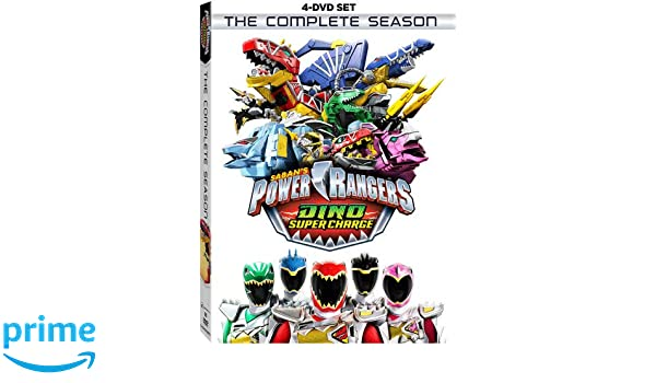 Power Rangers Dino Super Charge: Complete Season 4 Dvd ...
