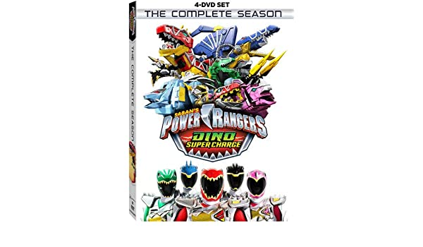 Power Rangers Dino Super Charge: Complete Season 4 Dvd ...