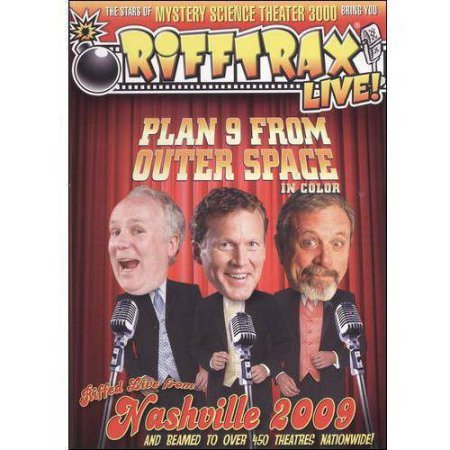 RiffTrax: Live! Plan 9 From Outer Space In Color (Widescreen)