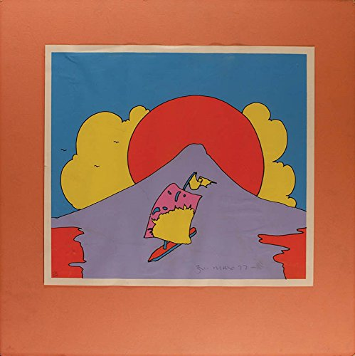 Peter Max Signed - Peter Max - Printed Art Signed 1972