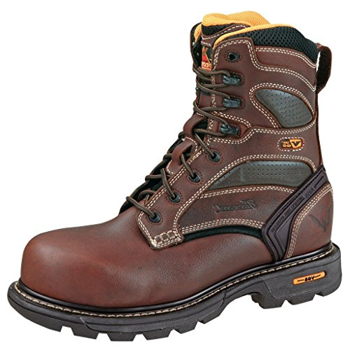"Thorogood Men's 8"" Plain Toe Work Boot"
