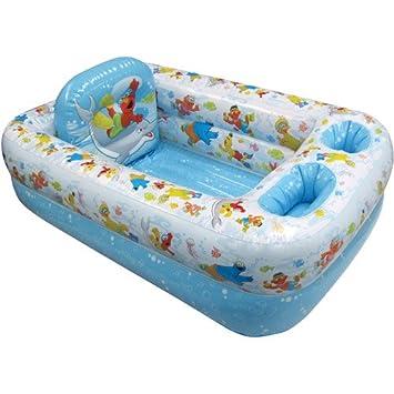 Amazon.com : Sesame Street - Inflatable Bathtub : Baby Bathing ...