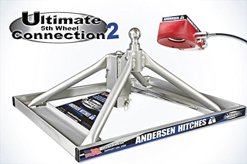 Andersen 3220 - Aluminum Ultimate 5th Wheel Connection 2 Gooseneck Mount (Wiring Set Truck Complete)