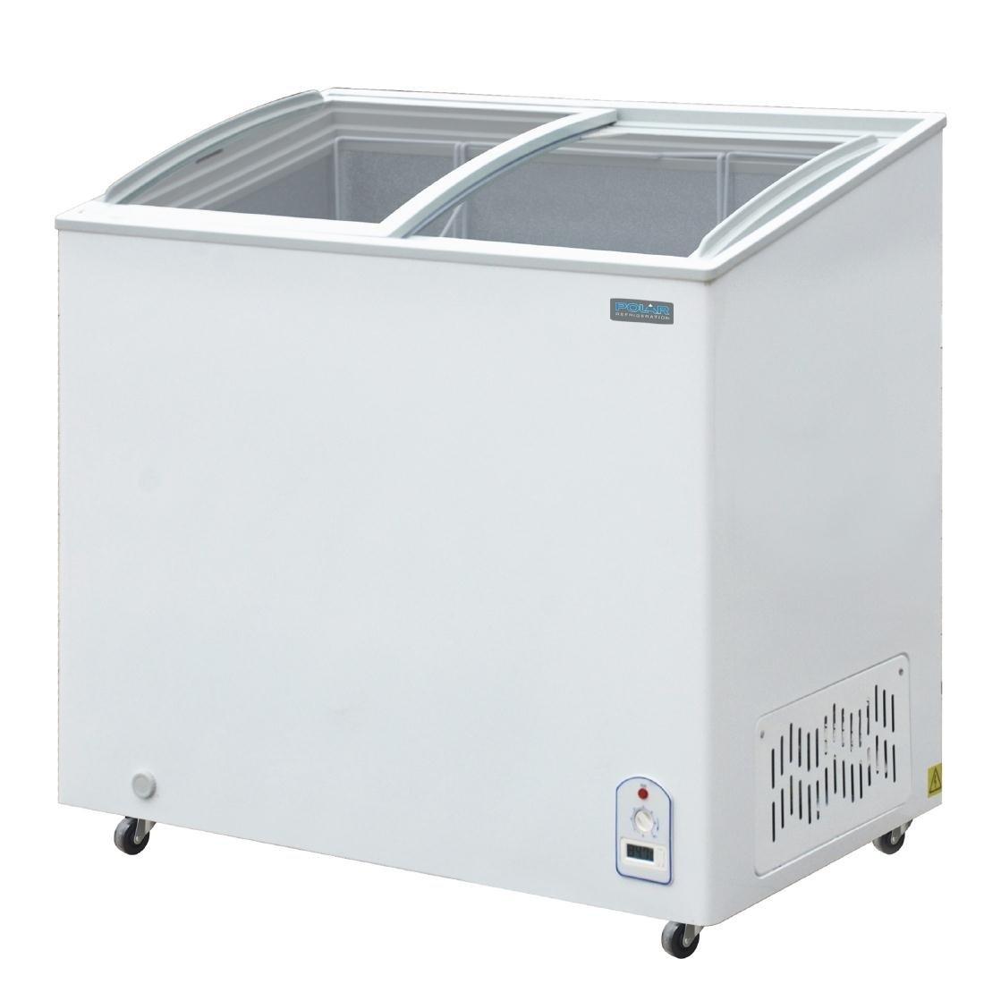 Polar pantalla pecho congelador 200LTR capacidad 200LTR superior ...