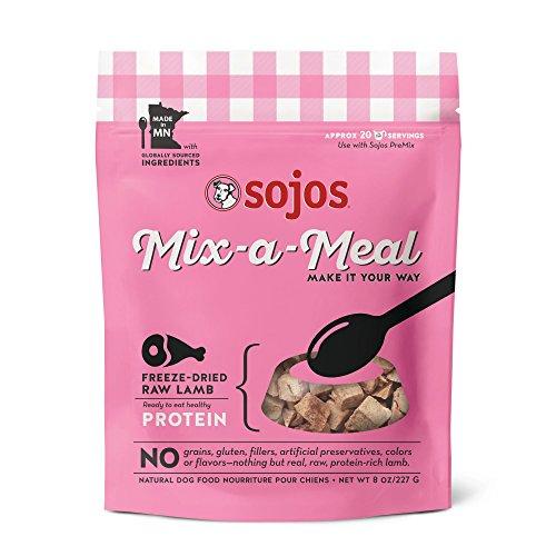 (Sojos Mix-A-Meal Freeze Dried Lamb, 8 Oz.)