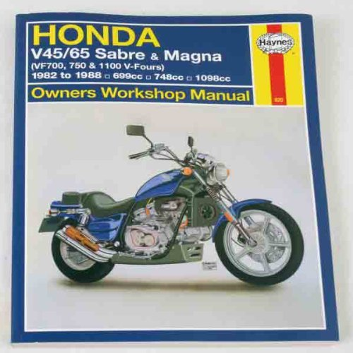 Haynes Repair Manual for Honda VF750 Sabre/Magna V4 (Honda Vf700s Sabre)