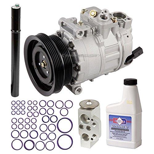AC Compressor w/A/C Repair Kit For Volkswagen VW Jetta Golf Rabbit GTI New Beetle & Audi TT RS - BuyAutoParts 60-81758RK NEW