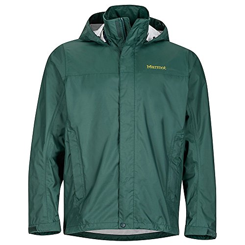 Marmot Men's PreCip Jacket Dark Spruce Large