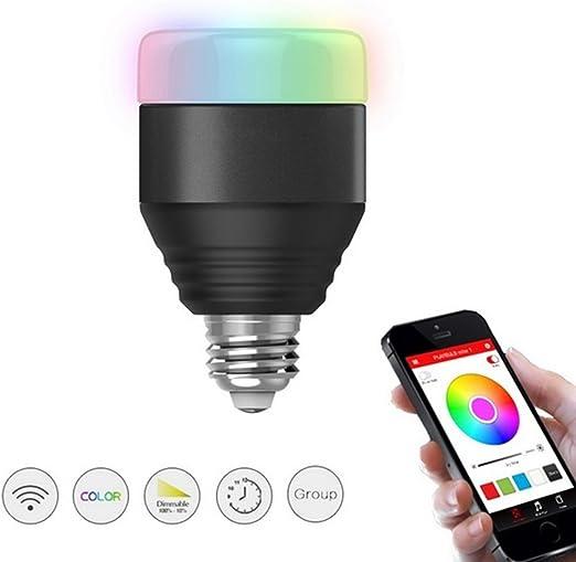 shakeball Bluetooth bombillas LED cambio de color Smartphone ...
