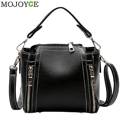 00d19e523418 Amazon.com: DingXiong Vintage Women PU Leather Handbags Designer ...