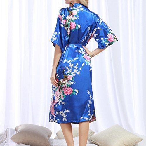 Evedaily Vestaglia donna Blu Evedaily Evedaily Vestaglia Blu donna H4SwqHfB6