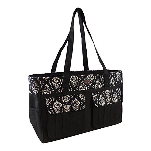Della Q Isabella Knitting and Crochet Bag #440-1 - Columbia by Della q