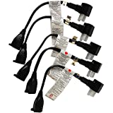 Ziotek ZT1212513 Power Strip Liberator Plus II, 5 Pack