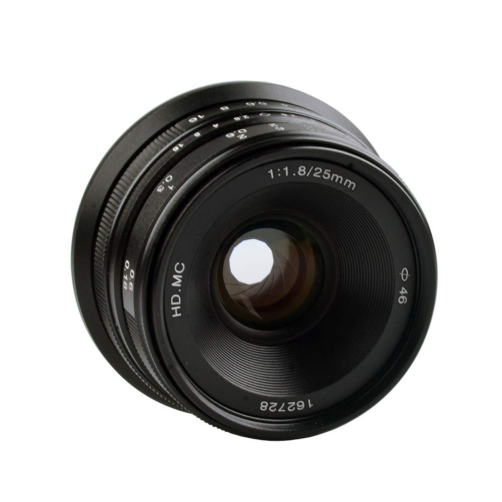 Lightdow 25 mm f1.8大口径マニュアルフォーカスレンズfor 25 mm B07G5KK26J Fujifilmカメラx-h1、x-a5、x-a20、x-a3、x-t20、x-a10、x-t2、x-pro2、x-t100、x-e3、X - t1、x-a2、x-t10、x-e2s B07G5KK26J, mitashop:ea44aa04 --- ijpba.info