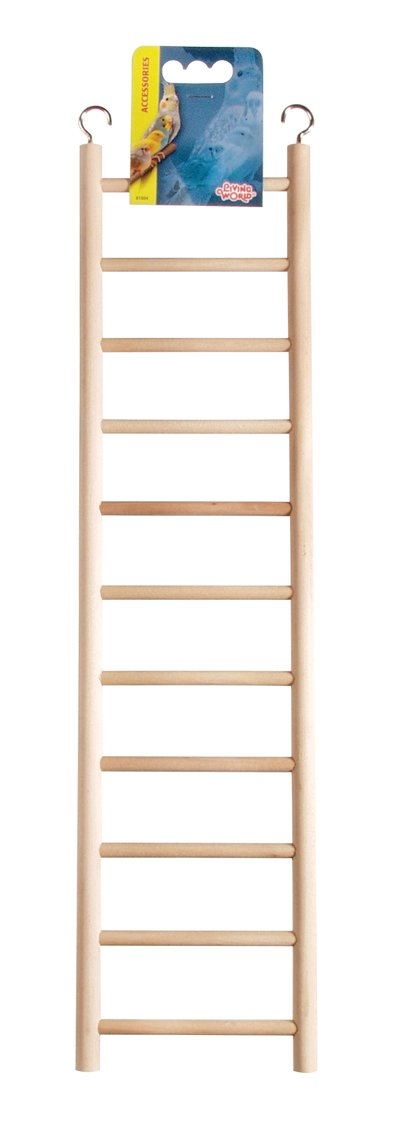 Living World Wooden Ladder, 11 Step
