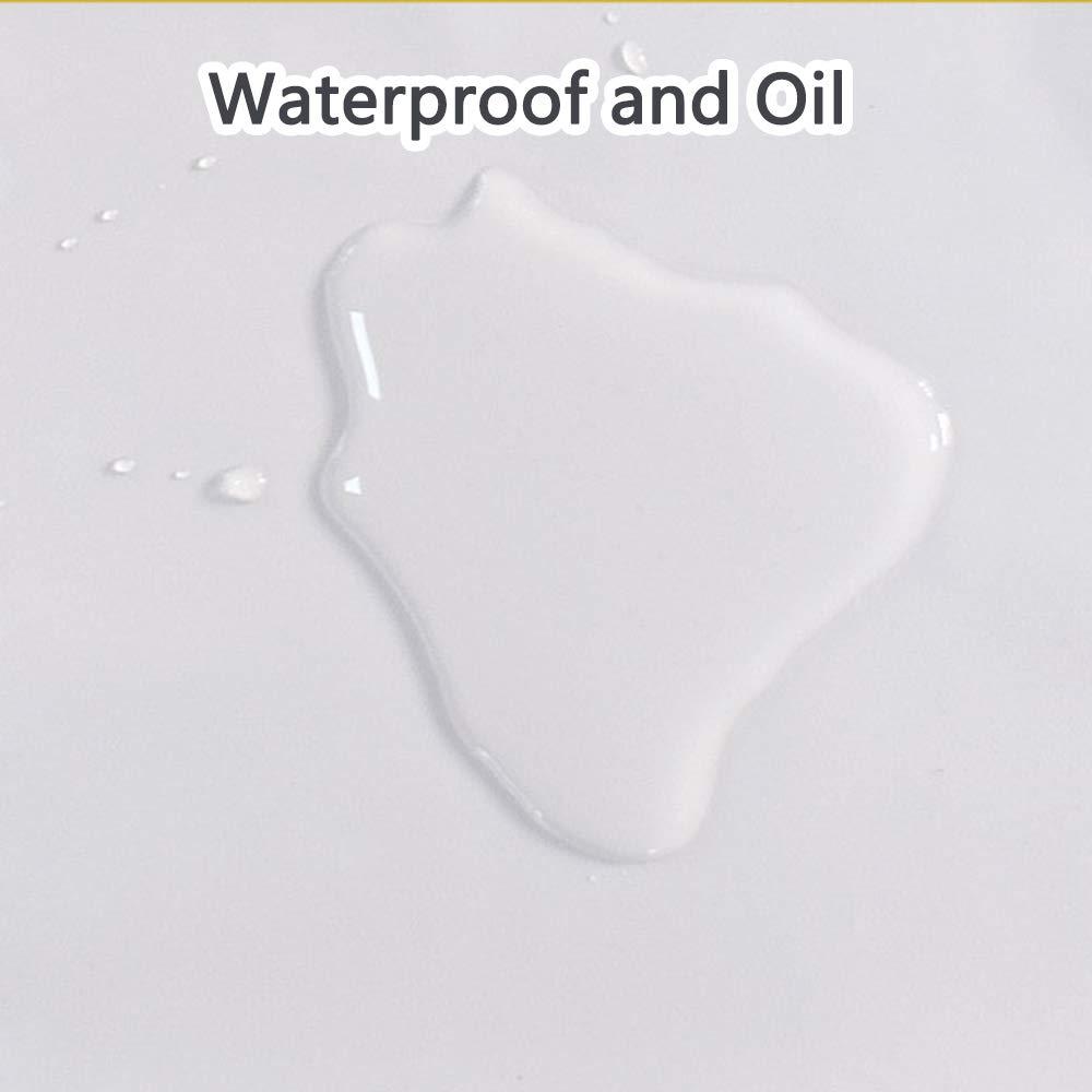 Kinandpri Impermeable de PVC Duradero Delantal, Resistir el ácido ...