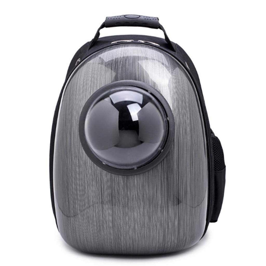 KANGYANLONG Pet backpack, space capsule backpack Small dog out portable backpack breathable dog backpack