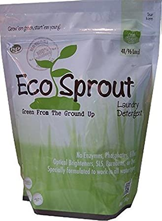 Amazon.com: ECO Sprout lavandería detergente (48 oz/96 ...