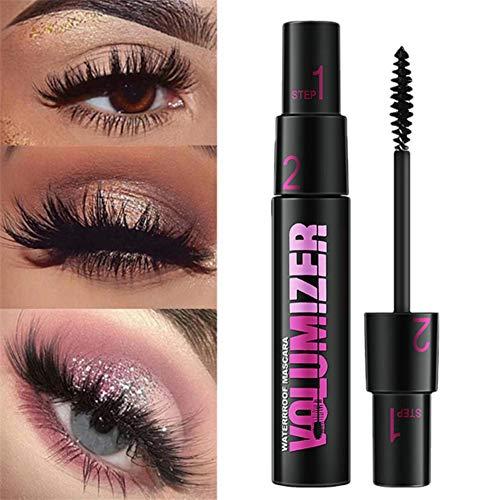 3D Fiber Mascara Long Eyelash Curving Lengthening Mascara Waterproof Makeup Eye Cosmetic By Shouhengda