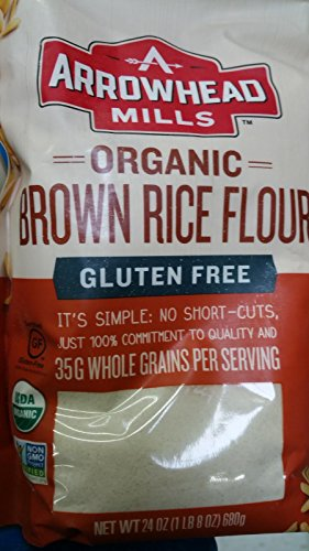 Price comparison product image Arrowhead Mills Flour Long Brown Rice Organic,  24 oz