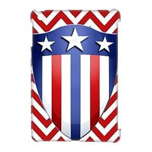 Cool Captain Shield Like Flag Hard Case Cover for Ipad Mini