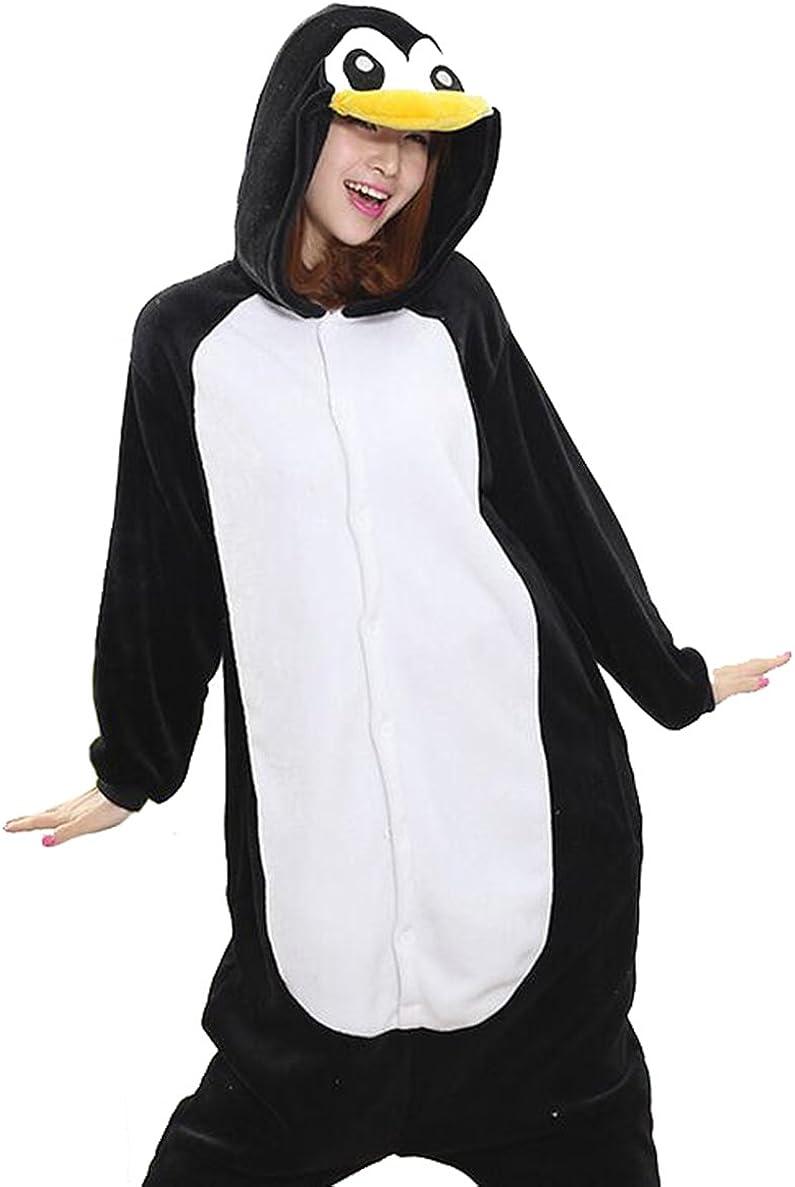 Amazon.com: Adrinfly - Disfraz de pingüino unisex para ...