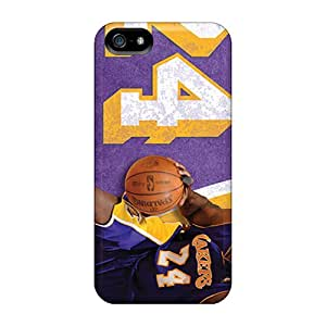 Iphone 5/5s Cover Case - Eco-friendly Packaging(los Angeles Lakers)