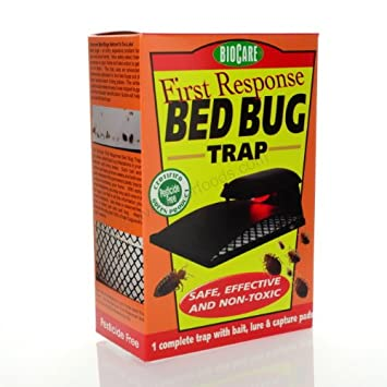 Amazon Com Biocare First Response Bed Bug Trap Health Personal Care