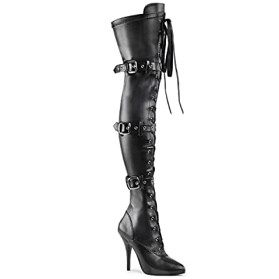 Pleaser Women's Seduce-3028 Thigh High boot | Over-the-Knee