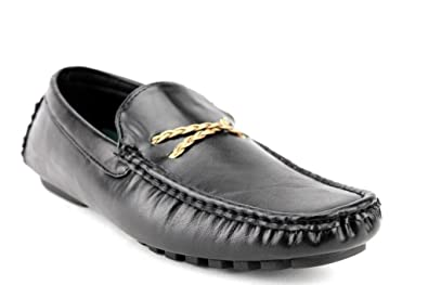 Jaime Aldo Rocus Mens XH-96 Slip on Moccasin Style Driving Shoes,