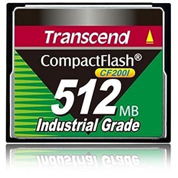 Transcend 512MB CF Memoria Flash 0,5 GB CompactFlash SLC - Tarjeta ...