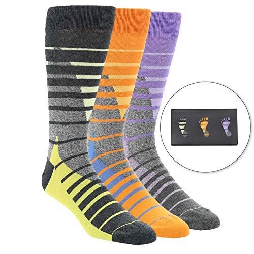 Statement Sockwear Men's 3 Pack Gift Box (Triangle ()