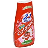 Colgate Kids 2 In 1 Toothpaste and Mouthwash, 4.6 Ounce (Pack of 6)
