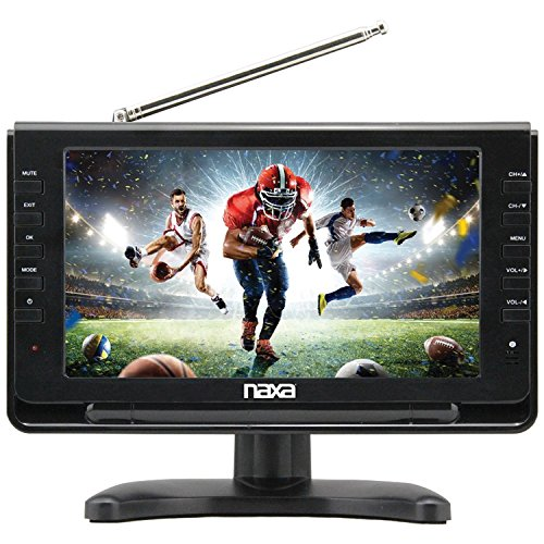 Naxa Electronics NT-110 10-inch Portable TV & Digital Multimedia Player with Car Package