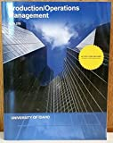 img - for Production / Operations Management (Bus 370) book / textbook / text book