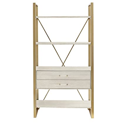 Coastal Living Oasis Harwell Bookcase In Oyster