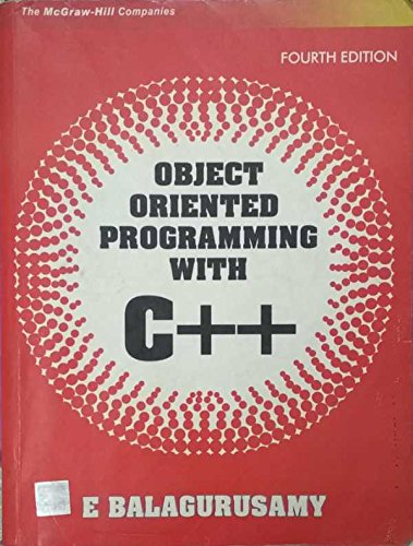 Chapter 6 , Problem 1:Object Oriented Programming by