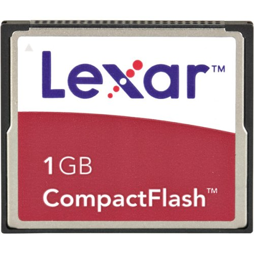 Lexar Media 1 GB 4X Compact Flash Memory Card (CF1GB-231) (Retail Package) 1gb Ultimate Compactflash Memory Card