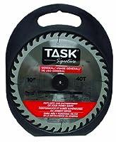 Task Tools T24703 Task Signature Circular Saw Blade, General Purpose, 5/8-Inch Arbor, 10-Inch