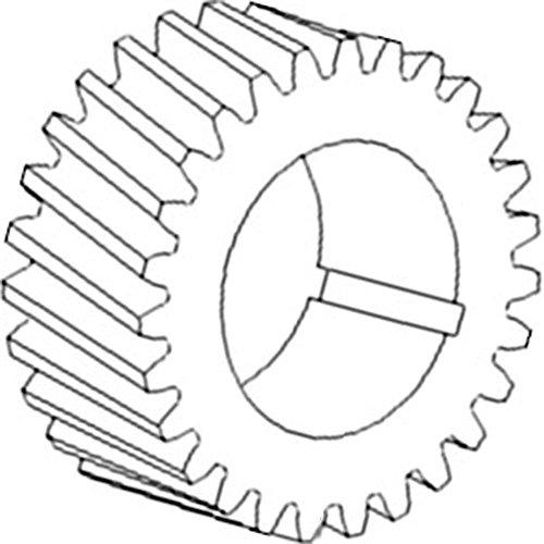Amazon Com 367272r1 New Crankshaft Timing Gear Made For Case Ih