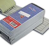 Rent Receipt Book Carbonless Copy Duplicate 2 parts 50 Sets 8'' X 2.75'' (5)