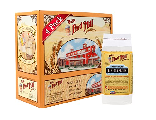Bob's Red Mill Finely Ground Tapioca Flour, 20 Oz (4 Pack)