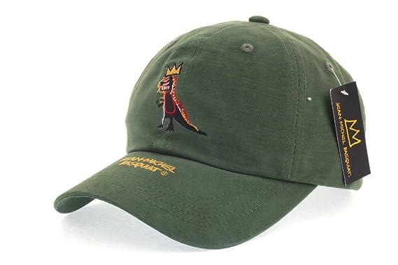 dinosaur baseball hat jr cap the good jean crown cotton curved green