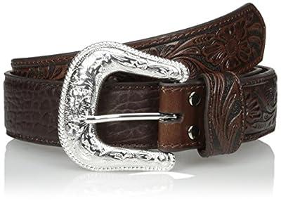 Nocona Men's Brown Bullhide Belt