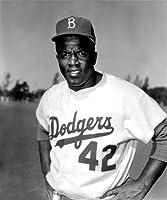 Jackie Robinson Brooklyn Dodgers 8x10 Photo #4 - Mint Condition